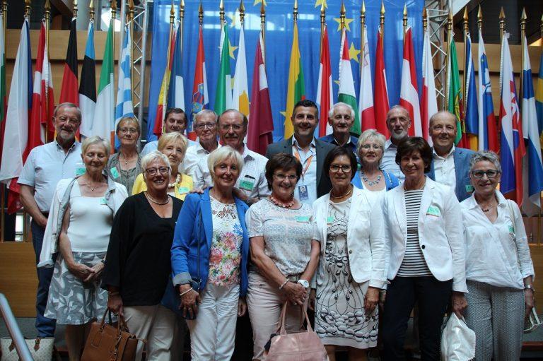 Besuchergruppe aus Büllingen, Amel, Sankt Vith und Malmedy