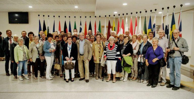 Besuch des Königlichen Eupener Eifel-Ardennen Vereins