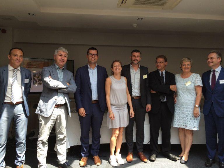 KMU im Mittelpunkt - Besuch der belgischen EU-Abgeordneten bei der belgischen Arbeitgebervereinigung VBO-FEB