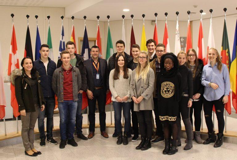 Besuch der deutschsprachigen Studenten der HEC Liège