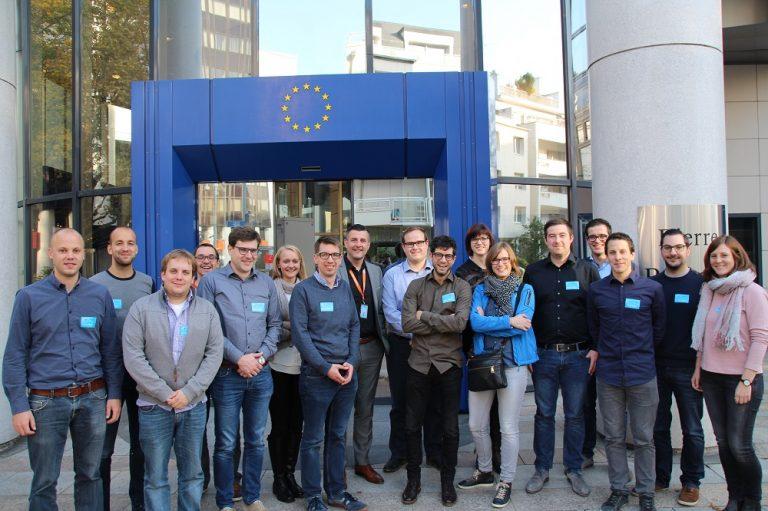 Besuch der Jaycees (JCI, Juniorenkammer) aus Eupen und Sankt Vith im Europäischen Parlament in Straßburg