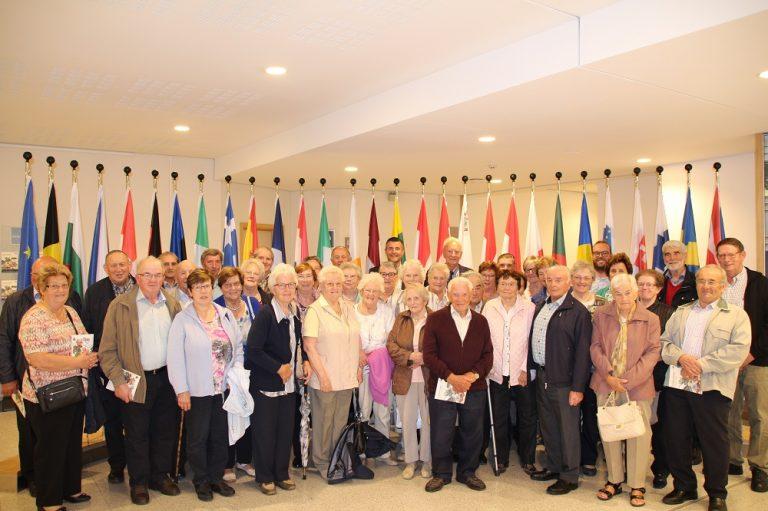 Besuch der Senioren der Ländlichen Gilden Ostbelgien