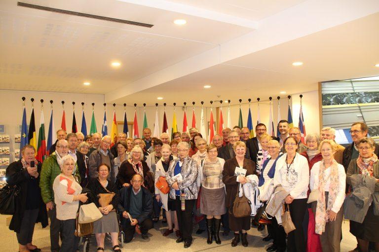 Besuchergruppe des Fortbildungswerks CPCP aus der Provinz Lüttich