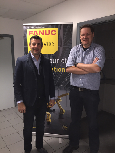 Besuch bei Eutomation & Scansys in Eupen