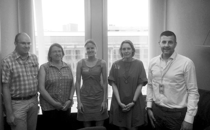 Treffen mit Vertretern des CSC-Grenzgängerdienstes und SOLVIT Belgien