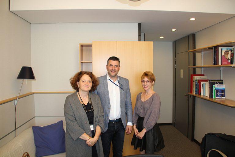 Treffen mit Vertretern der Fédération des éditeurs européens - Bei dem Gespräch ging es um die Frage, wie die europäische Gesetzgebung die Autorenrechte und das Kulturgut Buch besser schützen kann.