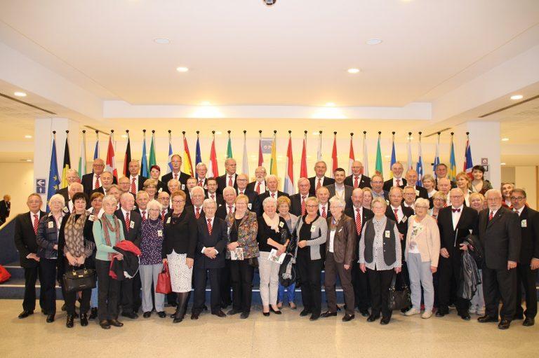 Besuch des Männerchors Fortissimo Euregio im Europäischen Parlament in Brüssel