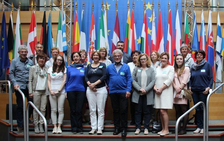 Besuch des frisch gegründeten Kiwanis Club Kelmis Inspiration im Europäischen Parlament in Straßburg
