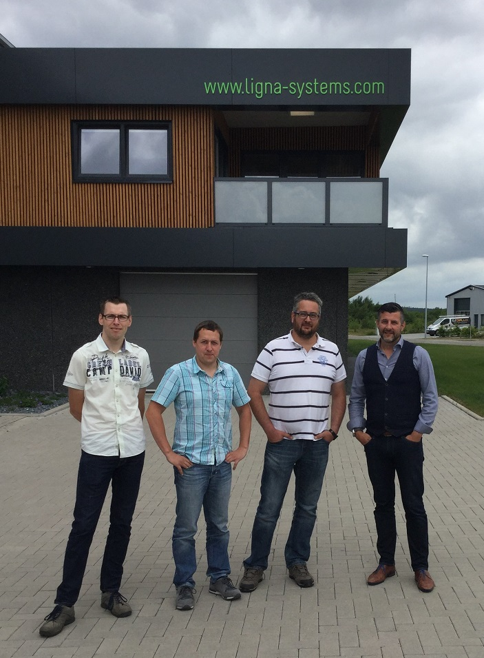 Besuch bei LIGNA systems in Sankt Vith