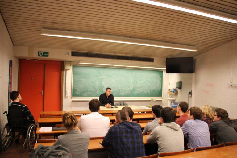 Besuch bei der deutschsprachigen Studentenvereinigung Eumavia in Neu-Löwen