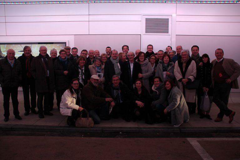 Besuch des 41er Clubs sowie Mitgliedern der Table Ronde aus Eupen im Europaparlament in Brüssel
