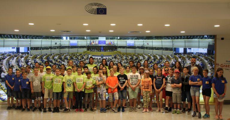 Besuch der Gemeindeschulen Büllingen