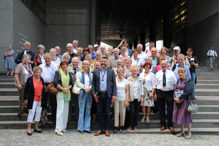 """Besuch der """"Europafreunde"""" in Brüssel"""