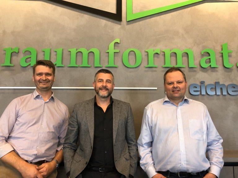 """Besuch des Betriebs """"Raumformat by eicher"""" - Ronny Eicher und André Michels"""