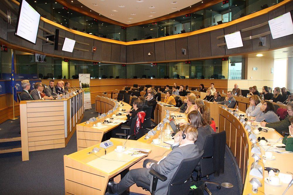 Fachpublikum der Veranstaltung im Europäischen Parlament in Brüssel