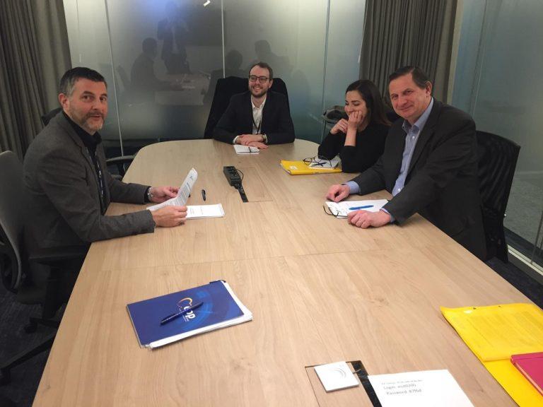 """Austausch mit Vertretern von ENPA (""""European newspaper publishers' association"""") zu dem """"Digital Services Act"""" sowie marktdominierenden Plattformen."""